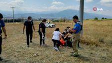 Bursa otomobil takla attı: 1 ölü, 1 yaralı