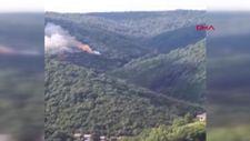 Sarıyer'de orman yangını çıktı