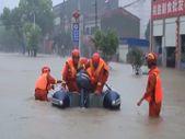Çin'de şiddetli yağış, sele yol açtı