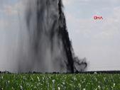 Şanlıurfa'da petrol boru hattı delindi