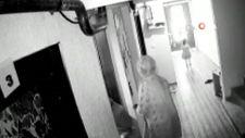 Tekirdağ'da 2 aylık bebek asansöre sıkıştı