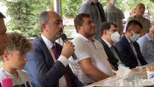 Adalet Bakanı Gül Emirhan Yalçın için Kur'an-ı Kerim okudu