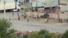 Antalya'da yabancı uyruklu şahısların sopalı kavgası