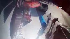 Arnavutköy'de dalgın sürücü temizlik işçisini eziyordu