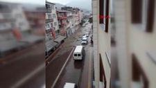 Kastamonu Bozkurt'ta yaşanan sel felaketinin ilk anları