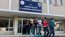 Mersin'de evde iş ve gelir vaadiyle dolandırıcılığa 5 gözaltı