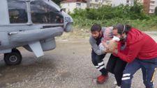 Sinop ve Kastamonu'da arama-kurtarma  çalışmaları devam ediyor