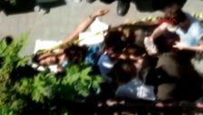 Ümraniye'de sokak ortasında baldızını bacağından vurdu