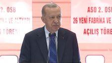 Erdoğan: Bu tesisler ülkemizin gücünü gösteriyor