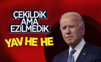 Joe Biden'dan Afganistan açıklaması