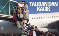 Kabil Havalimanı'nda yüzlerce Afgan, uçağa binebilmek için birbirini ezdi