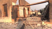 Kaliforniya'da yangının ardından yaşanan yıkım