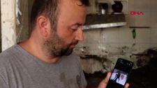 Kastamonu'da evlilik yıl dönümlerinde, selde kaybolan eşini aradı