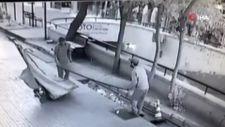 Antalya'da atık toplayıcıları mazgalları çaldı
