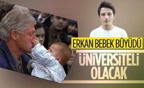 Gölcük depreminin simge isimlerinden 'Erkan bebek' üniversiteli olacak