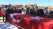 Şehit Yılmaz Tuncer, Kırşehir'de son yolculuğuna uğurlandı
