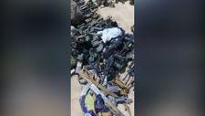 Taliban'ın ele geçirdiği Amerikan askerlerinin teçhizatları görüntülendi