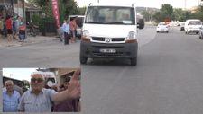 Arnavutköy'de bisiklet süren çocuğa minibüs çarptı