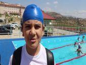 Siirt'te çocuklar için portatif havuz yapıldı