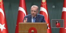 Cumhurbaşkanı Erdoğan, eğitimde aşılamaya ilişkin yeni kararları duyurdu