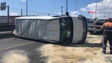 Haliç Köprüsü'nde kazaya neden olan iki kişi kaçtı