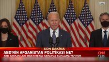 Joe Biden: Afganistan'daki tahliye süreci devam ediyor