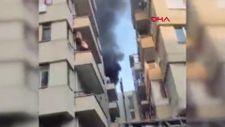 Antalya'da film izler gibi yangını seyrettiler