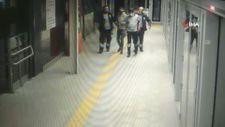 İstanbul metrosunda kablo hırsızı suçüstü yakalandı