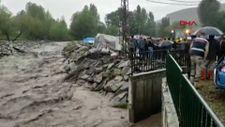 Kars'ın köylerinde sel etkili oldu