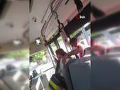 Antalya'da otobüste maske takmayı reddeden kadın ortalığı birbirine kattı