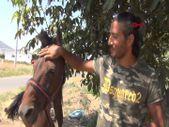 Doğa ve hayvan hakları için İzmir'den atı ile Batman'a yürüyor