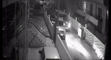 İstanbul'da araçlara vurup kaçan sürücü kamerada