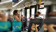 İstanbul'da otobüste 'maske takmama' kavgası