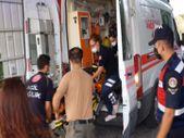 Balıkesir'de dumandan kaçan ayı yangını söndürmeye çalışan orman gönüllüsüne saldırdı