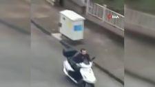 Bozkurt'ta selden kaçış görüntüleri