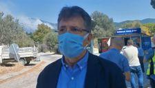 Edremit Belediye Başkanı: Müdahale devam ediyor