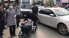 Elazığ'da direksiyon başında kalp krizi geçirdi, imdadına vatandaşlar yetişti