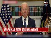Joe Biden'dan Afgan mülteci açıklaması