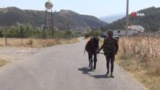Kaşif adını verdiği atıyla İzmir'den Batman'a yürüyecek