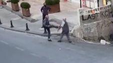 Ümraniye'de iki yaşlı adamın kavgası