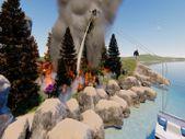 Yangınla mücadele için İHA ordusu