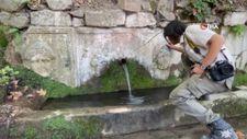 2 bin yıllık lahitten 150 yıldır su akıyor