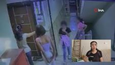 'Arabasının alarmı öttü' diye 13 yaşındaki kızı kemerle dövdü