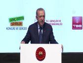 Cumhurbaşkanı Erdoğan Genç Dostu Şehirler Kongresi'nde