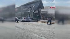 İkitelli'de bina çöktü