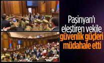 Ermenistan Parlamentosu'nda kavga çıktı