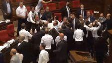 Ermenistan parlamentosunda kavga
