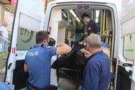 Erzurum'da evine giremeyen adam 3. kattan zemine düşerek hayatını kaybetti