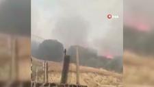 Kahramanmaraş'ta ormanlık alanda çıkan yangın köylüleri korkuttu