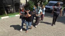 Samsun'da araçla Türkiye'yi dolaşıp hırsızlık yapan 5 kişi yakalandı